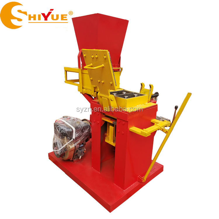 hydraulic interlocking paver machine ECO BRB issb machine/manual brick making machine sell in philippines