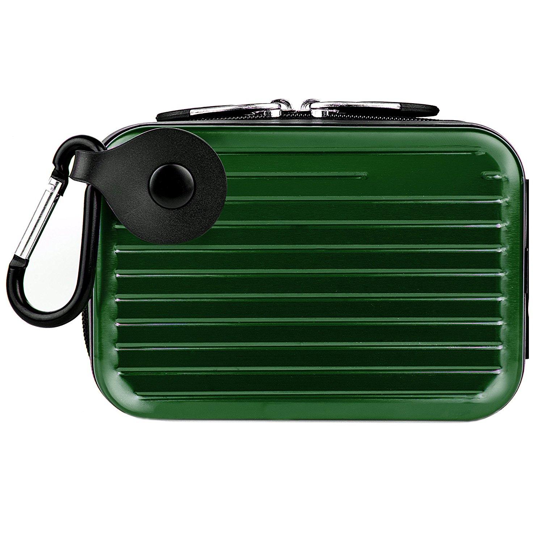 VanGoddy Pascal Metal Carrying Hard Case for Kodak PixPro Friendly Zoom FZ51 / FZ41 Digital Cameras (Green)