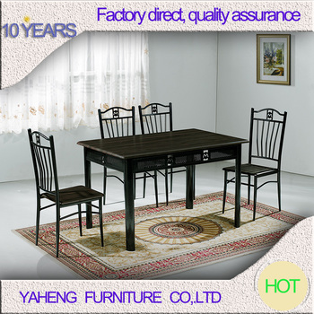 Cheap Chinese Supplier Dining Room Table Four Seater Dining Table - Dining room table for four