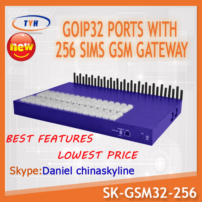 sk goip 32 port 256 sim gsm voip gateway voip providers international callsMulti-Codec Support wireless communication equipment