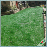 AVG Manufacture Cool V Garden Design With Artificial Grass Carpet For Patio