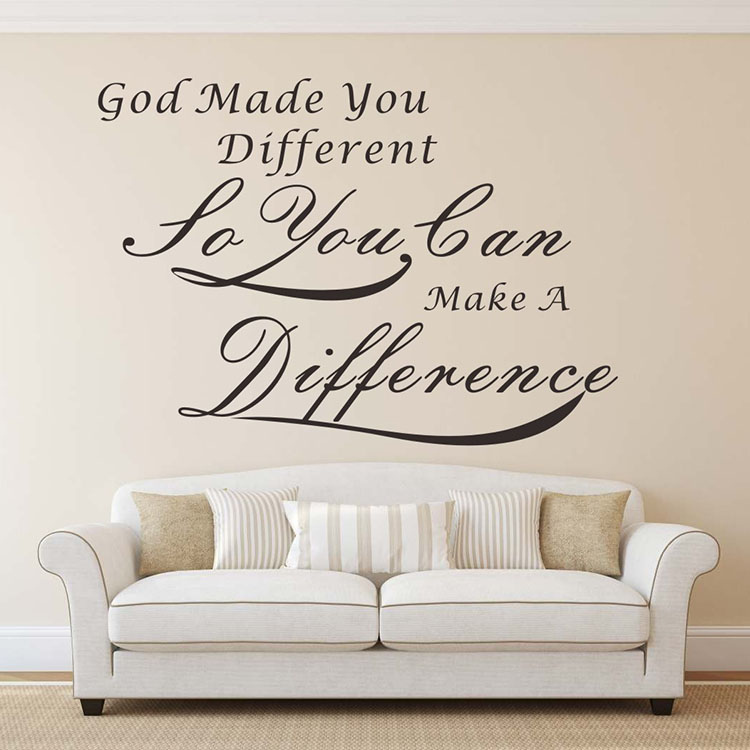Get ready be strong Inspirational Motivational Wall Decal Quote Art Home Decor