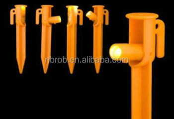 Adjustable LED Lighted Plastic Tent Stakes  sc 1 st  Alibaba : lighted tent stakes - memphite.com