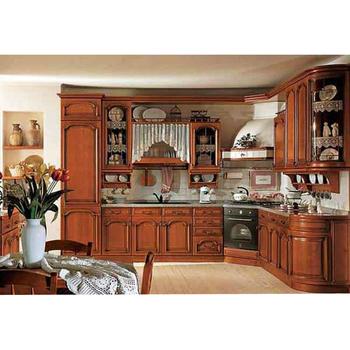 Clic Wooden Kitchen Cabinet Modular