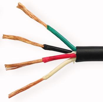 14awg 4-conductor Lautsprecherkabel (500 Füße,Weiß) 99.9% Sauerstoff ...