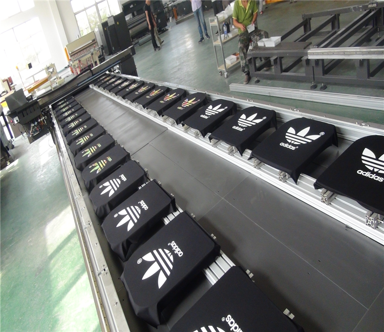 A4 Size Multi Station Flatbed Digital HD Inkjet Printing T shirt Mass Production Machine For Sales Wholesale Price
