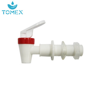 manufacture white color hot water taps for barrel