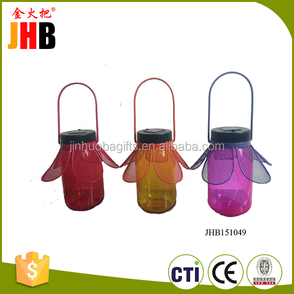 Fashion home decoration mini transparent bottle garden ornaments