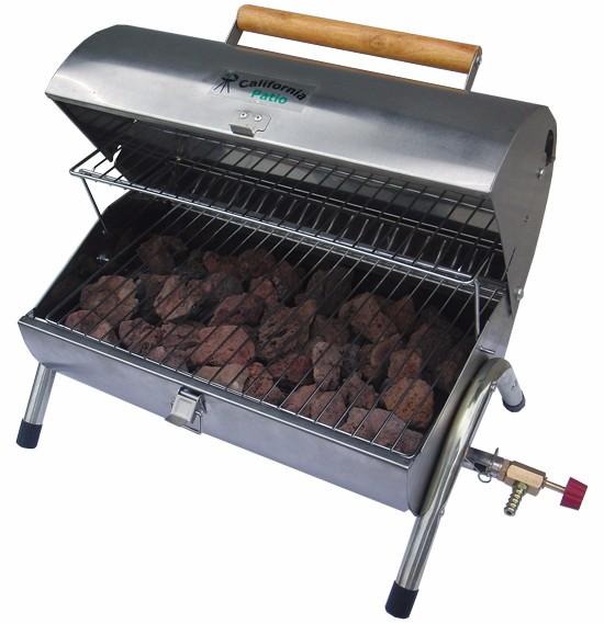 Faire en usine à gaz pour la viande en roche de lave Grill