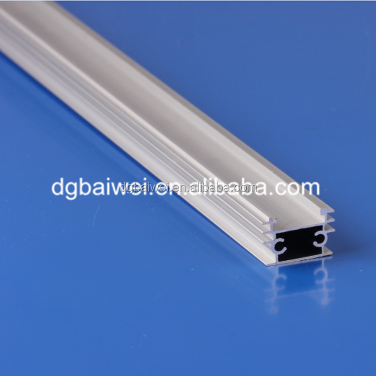 Aluminum extruding led light strip body for decorative lighting