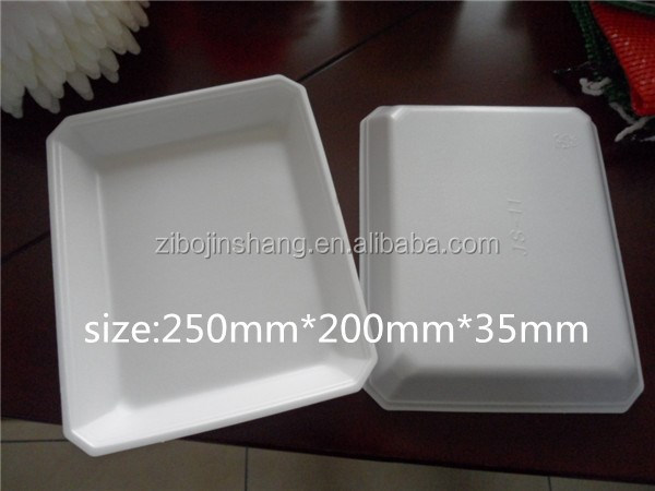 ps foam plastic food grade packaging trays fresh fruit packing tray