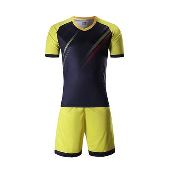 e5fa1c235 Guangzhou Marshal Custom Blank Dry Fit Material Shirt Team Soccer Uniforms  kit