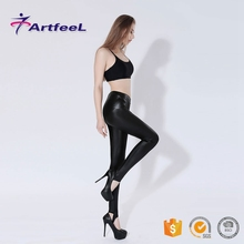 Rubber for adults kick boxing slim fit ladies cutting pants