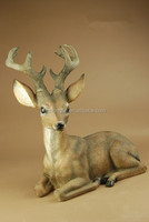 Handmade resin decoration polyresin life size animal statuary