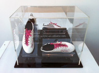 YJ0150 rectangular clear acrylic shoe display case