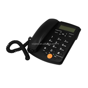 Pstn Analog Caller Id Desktop Telephone D505 With Phonebook - Buy Analog  Corded Telephone,Caller Id,Phonebook Product on Alibaba com