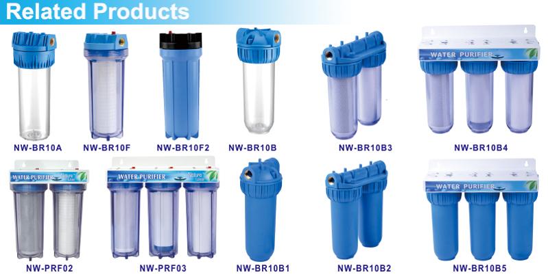 [NW-BR10B3] Italië type twee stage water filtratie systeem met gunstige prijs