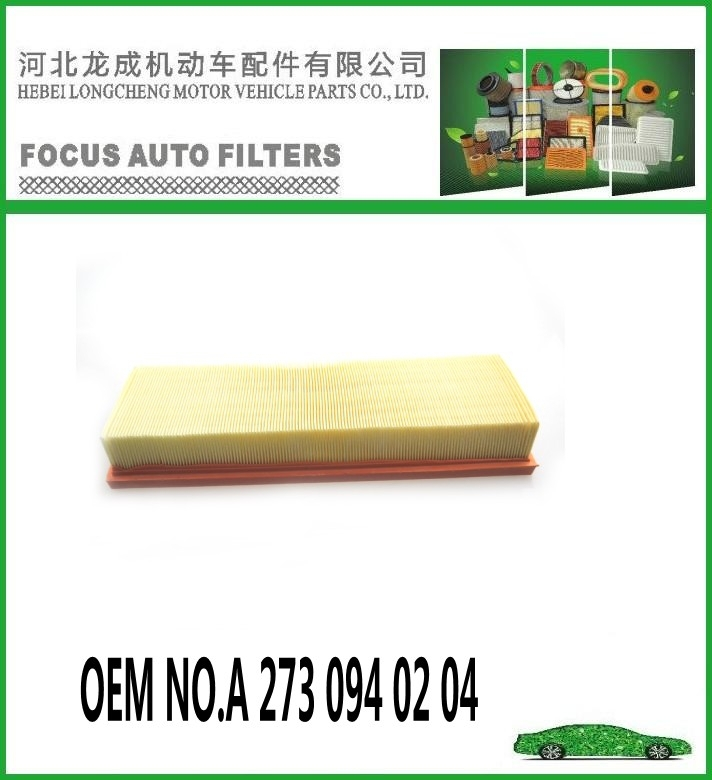 Made In China Air Filter With Oem No.a 273 094 02 04