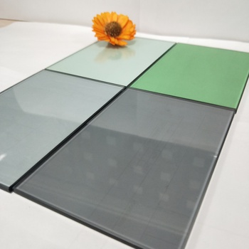 Building glass 5mm 6mm grey blue green bronze tempered laminated glass window Glass