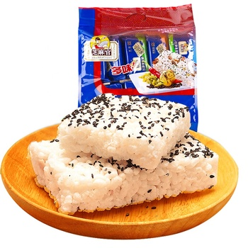 Chinese Popular 600g Healthy Snack Food Sweet Rice Cracker For Children