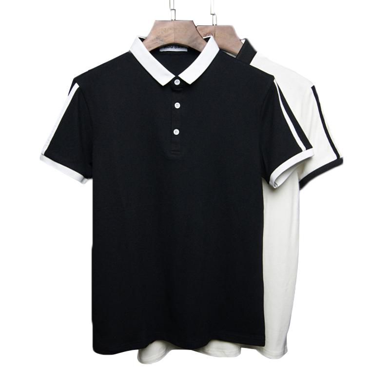 OEM all'ingrosso di polo, camicia di polo degli uomini in bianco su ordinazione