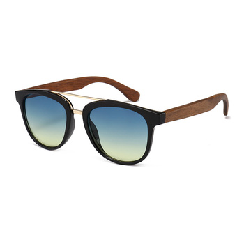 1699ae34f0 Most popular retro imitation wood temples sunglasses brand your own 2019