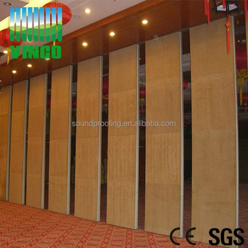 Folding partition walls prices with aluminium acoustic for Acoustic folding partitions