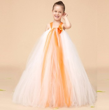 Fashion Dress For Kids Flower Girls Wedding Gowns New Style Dress - Wedding Dresses For Teenage Girl