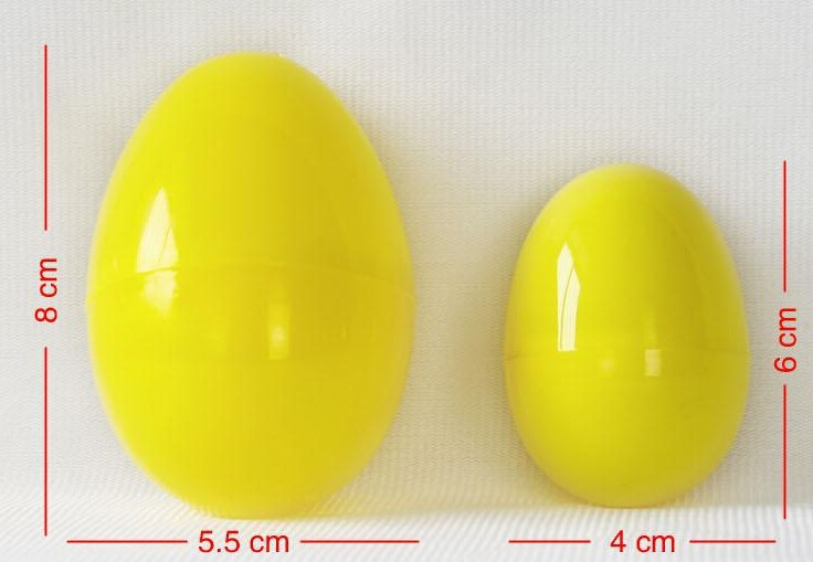 Custom Plastic Egg Toy Candy Easter Factory In China