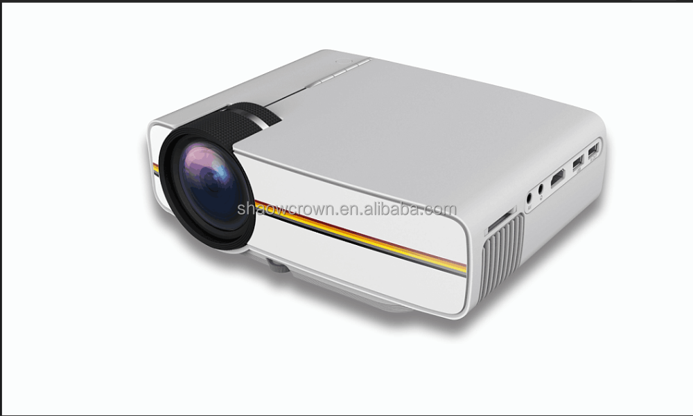Factory price ! Cheap Mini led Projector YG400 Home Theater 640x480 Pixels LED Portable Projector High Definition