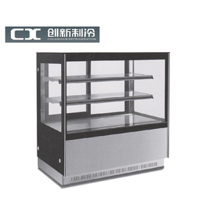 vertical showcase right angle for cake display