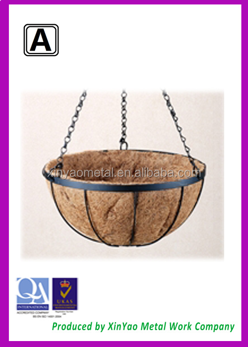 Hanging Flower Baskets Supplier : Manufacturer artificial hanging baskets
