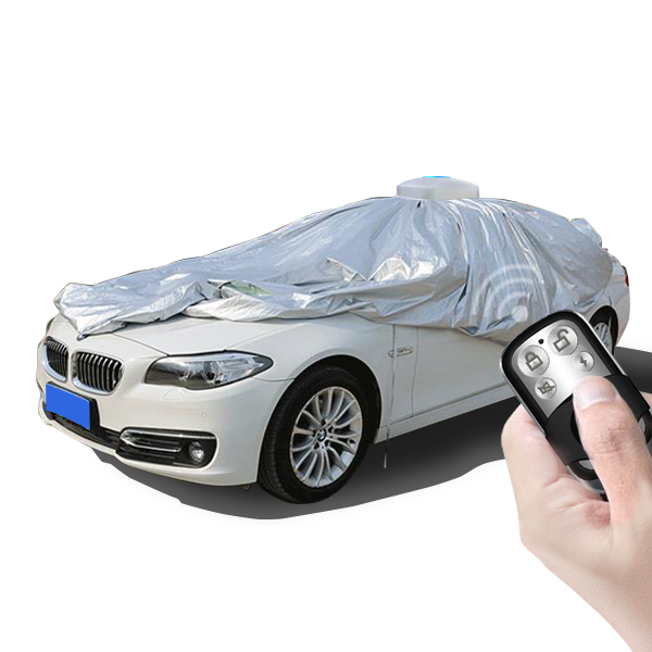 2018 new inventions automatic car covers universal cover with remote control APP