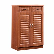 Modern custom made tall cabinet cheap large storage wooden shoe cabinet