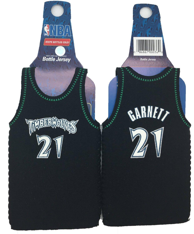 9da66993119 NBA Kevin Garnett  21 Minnesota Timberwolves Jersey Bottle Cooler 2-pack