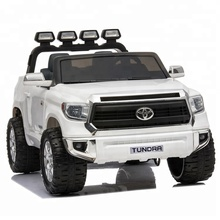 Licentie Toyota Tundra 24 V Ride-on <span class=keywords><strong>Kinderen</strong></span> Elektrische <span class=keywords><strong>Jeep</strong></span> Pickup-Wit