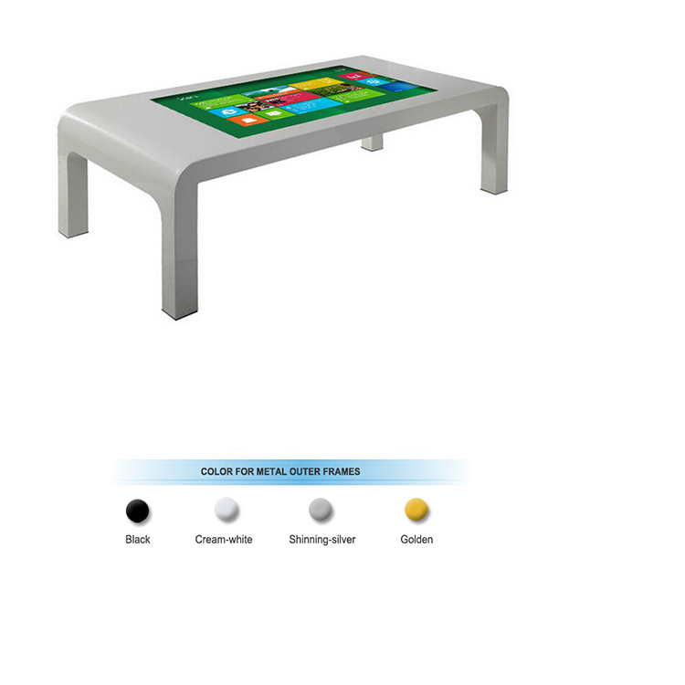 42inch Interactive Digital Signage Kiosk multi touch screen coffee table