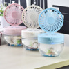 New style standing cartoon rechargeable mini fans with USB port