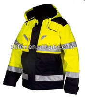 100% Cotton EN471 arc flash protective jacket for industry worker