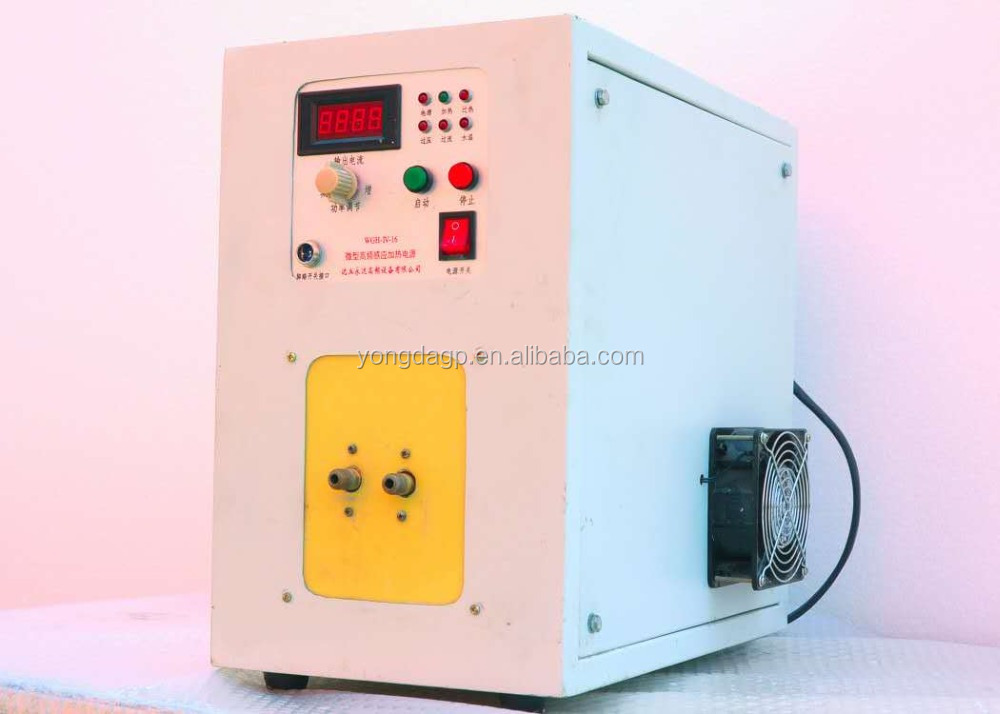 Portable small induction 10kw welding WGH-16