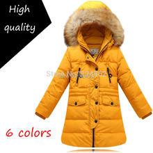 2015 Winter Girl s Equipment Fur Collar Long Design Thickening all match Fashion Down Coat 10