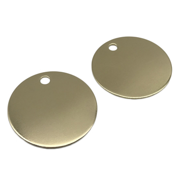 Custom Stainless Steel, Metal, Copper Stamping Round Blanks