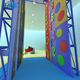 Used Mobile Rock Climbing Wall With Interactive Games For Sale