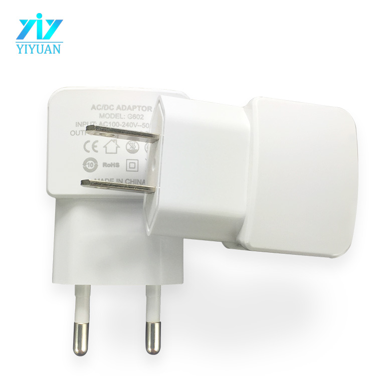 Cell Phone Charger Adapter Universal Dual USB Travel Charger for iPad and Samsung Galaxy Tab