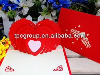 Greeting card with lover heart for valentine day sweet birthday greeting card with lover heart for valentine day sweet birthday cards lovers gift m4hsunfo