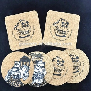 Advertising gifts beer coaster,custom design cork coaster