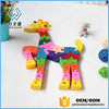 New arrive silicone Giraffe Tangram puzzle