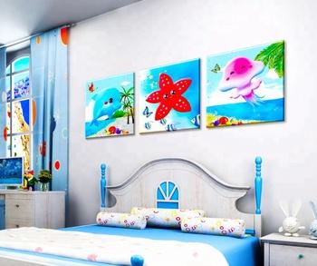The Sea World Diy Wall Paintings Kids Room Decoration 5d Diamond Painting Buy 5d Diamond Painting The Sea World Diamond Painting 5d Diamond