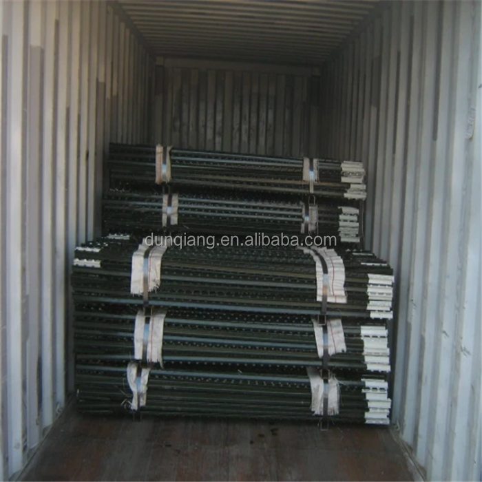 Factory High quality cheap metal used studded T posts for sale texas promotion