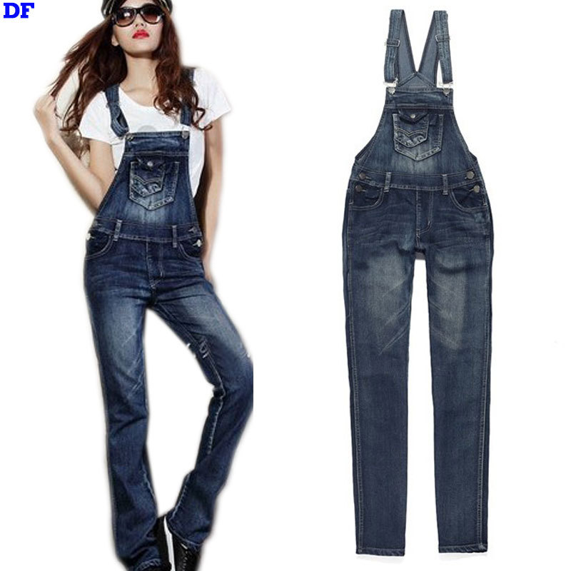 a2280bbe63e Get Quotations · Rompers Womens Jumpsuit 0veralls Bodysuit Slim Denim  Jumpsuit 2015 New Fashion Women Jumpsuit Macacao Plus Size